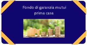 Fondo di garanzia mutui acquisto prima casa